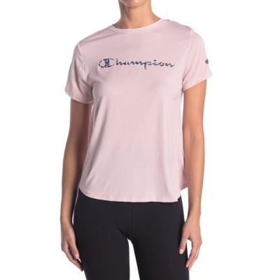 チャンピオン レディース Tシャツ トップス Sport Lightweight T-Shirt HUSH PINK