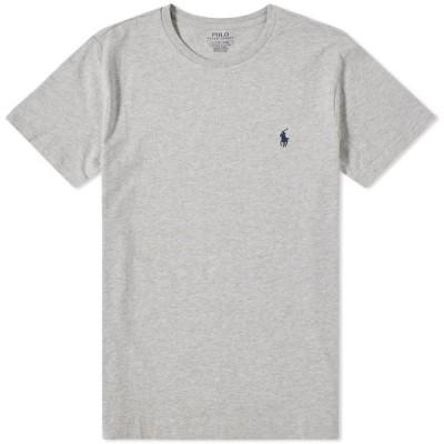 ラルフ ローレン Polo Ralph Lauren メンズ Tシャツ トップス custom fit tee Grey Heather