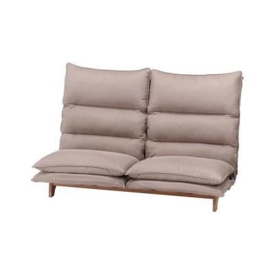 ダブルクッション座椅子 フィット2 2P BE