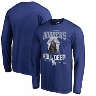 Fanatics Branded ファナティクス ブランド スポーツ用品  Fanatics Branded Los Angeles Dodgers Royal Roll Deep wit