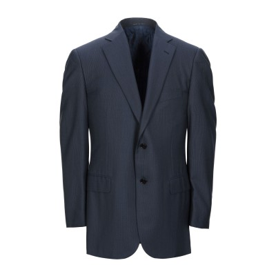 パル ジレリ PAL ZILERI テーラードジャケット ダークブルー 52 バージンウール 100% テーラードジャケット