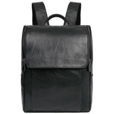 バッグ ユニセックス Unisex Mens Women Real Leather Travel shoulder bag Backpack Rucksack School JD44