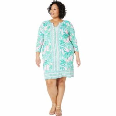 リリーピュリッツァー Lilly Pulitzer レディース ワンピース ワンピース・ドレス UPF 50+ Nadine Dress Pink Blossom Suite Views Engin