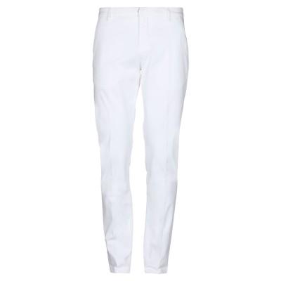 ドンダップ DONDUP パンツ ホワイト 35 コットン 98% / ポリウレタン 2% パンツ