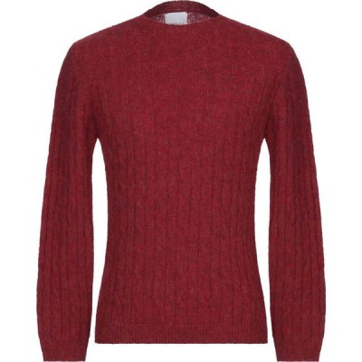 ベルウッド BELLWOOD メンズ ニット・セーター トップス sweater Brick red