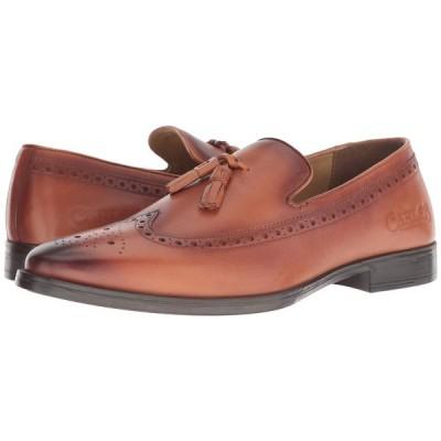 カルロスサンタナ CARLOS by Carlos Santana メンズ ローファー シューズ・靴 Sanders Tassel Loafer Cognac Calfskin Leather