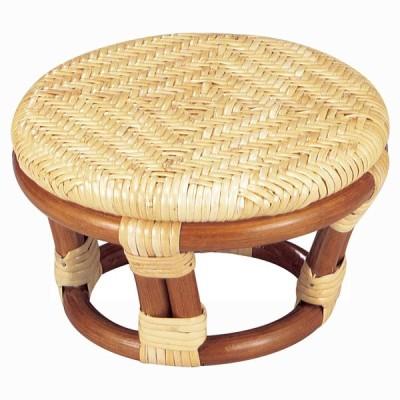 今枝ラタン 座椅子 ゴールド 幅22.5×奥行22.5×高さ12cm 正座椅子(丸) SZ-202A