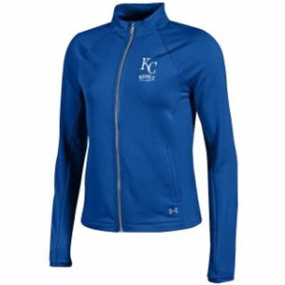 Under Armour アンダー アーマー スポーツ用品  Under Armour Kansas City Royals Womens Royal Fleece Full-Zip Jacket