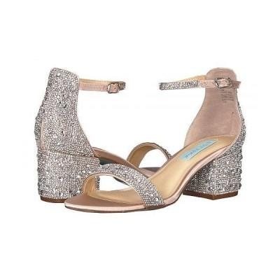 Blue by Betsey Johnson ベッティージョンソン レディース 女性用 シューズ 靴 ヒール Mari Heeled Sandal - Champagne