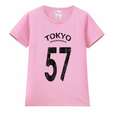 【東京57!】レディース 半袖 Tシャツ