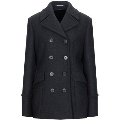BOSS HUGO BOSS コート 鉛色 40 バージンウール 90% / カシミヤ 10% コート