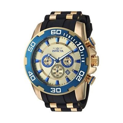 Invicta Men's Pro Diver Quartz Watch with Silicone Strap, Two Tone, 26 (Model: 22343)