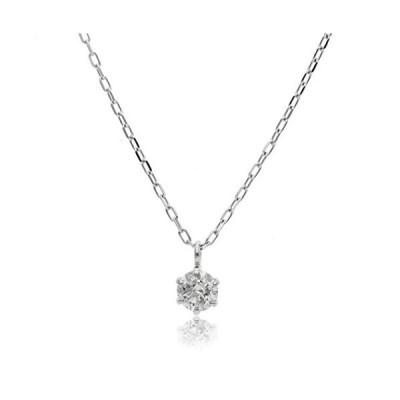 L&Co (エルアンドコー) 【ギフトBOX付】プラチナ PT PT900 ダイヤモンド 0.1ct ペンダント ネックレス (バチカンタイ?