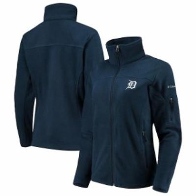 Columbia コロンビア スポーツ用品  Columbia Detroit Tigers Womens Navy Give & Go Full-Zip Jacket