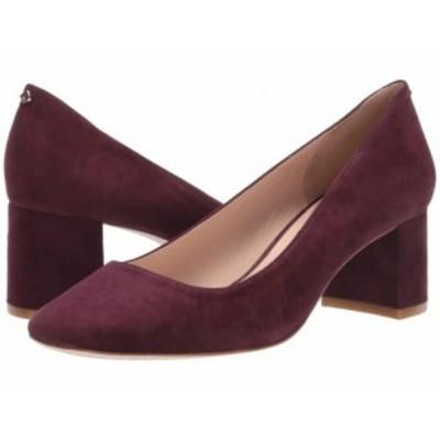 Kate Spade New York ケイト・スペード レディース 女性用 シューズ 靴 ヒール Kylah Block Heel Pump Cherrywood Suede【送料無料】