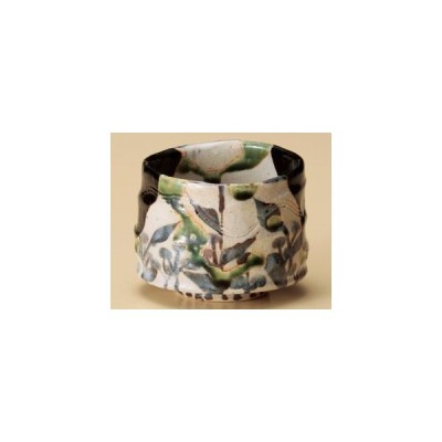 茶道具黒織部切立小鉢/大きさ・9×11.5cm