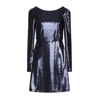 BLACK CORAL ミニワンピース&ドレス ダークブルー 38 ポリエステル 85% / ナイロン 15% ミニワンピース&ドレス