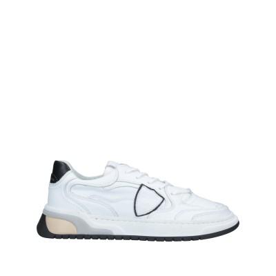 フィリップ モデル PHILIPPE MODEL スニーカー&テニスシューズ(ローカット) ホワイト 39 革 スニーカー&テニスシューズ(ローカッ