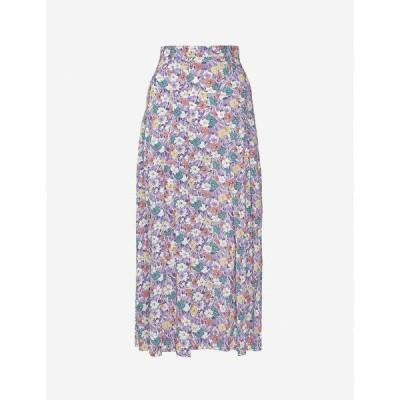 フェイスフルザブランド FAITHFULL THE BRAND レディース ひざ丈スカート スカート Cuesta floral-print crepe midi skirt Nefeli Floral Print