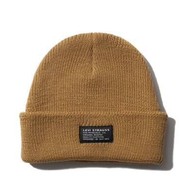 Levi's / KNITTED CROPPED BEANIE MEN 帽子 > ニットキャップ/ビーニー