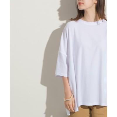 tシャツ Tシャツ 梨地ビッグボックス半袖Tシャツ