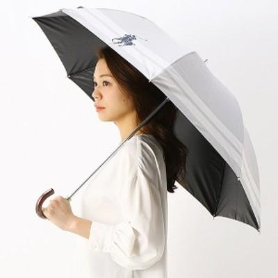 ポロ ラルフローレン(傘)POLO RALPH LAUREN(umbrella)/日傘(ショート/晴雨兼用/大きめ)【遮光&UV遮蔽率99%以上/遮熱】裾ボー…