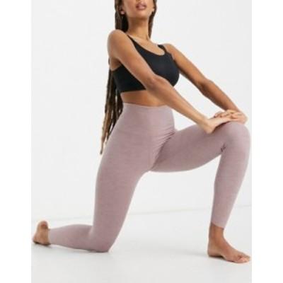 ナイキ レディース レギンス ボトムス Nike Yoga Luxe 7/8 leggings in smokey mauve Pink