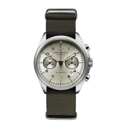 ハミルトン Hamilton 腕時計 H76456955 カーキ アビエーション パイロット パイオニア オリーブ系