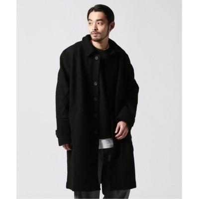 【ジャーナルスタンダード】 Coat Oversized Structured メンズ ブラック S JOURNAL STANDARD