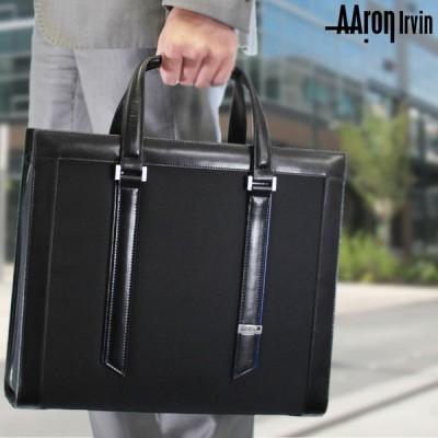 ビジネスバッグ メンズ A4 ブリーフケース ブランド 2Way 斜めがけ Aaron Irvin アーロン・アーヴィン ニューナイロンビジネス 送料無料