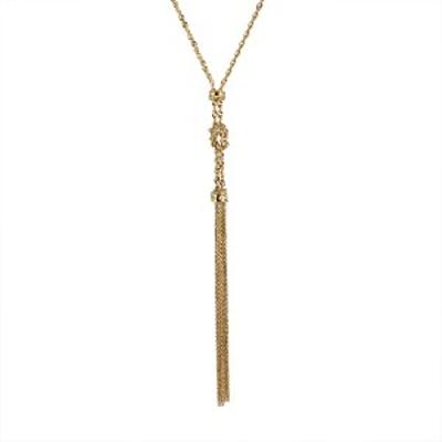 ネックレス K18イエローゴールド 18金 ロングネックレス レディース 人気 おすすめ 女性