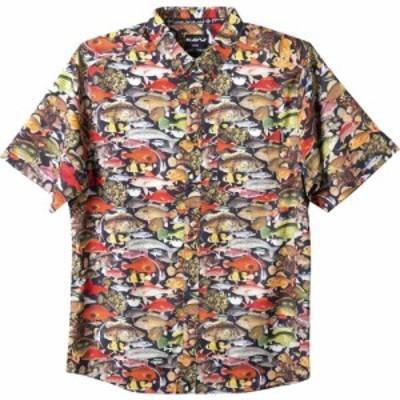 カブー KAVU メンズ 半袖シャツ トップス River Wrangler Shirt Fish Line