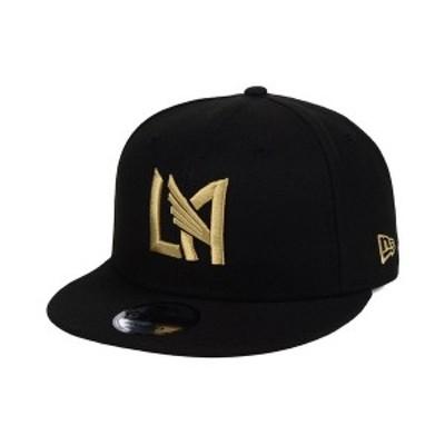 ニューエラ メンズ 帽子 アクセサリー Los Angeles Football Club Core 9FIFTY Snapback Cap Black