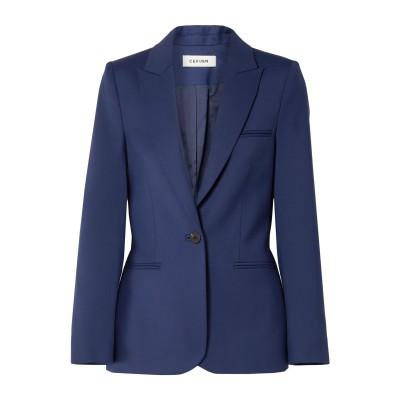 CEFINN テーラードジャケット ダークブルー 10 ポリエステル 54% / ウール 44% / ポリウレタン 2% テーラードジャケット
