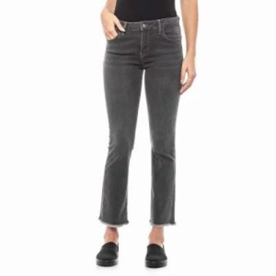 フリーピープル ジーンズ・デニム Black Straight Crop Jeans Black