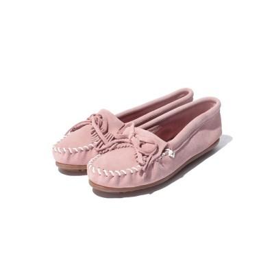 (MINNETONKA/ミネトンカ レディース)KILTY SUEDE MOC Pink【35700860】/レディース Pink