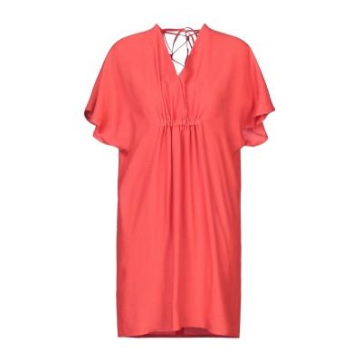 タラ ジャーモン TARA JARMON ミニワンピース&ドレス コーラル 38 アセテート 79% / レーヨン 21% ミニワンピース&ドレス