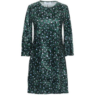 カオス KAOS ミニワンピース&ドレス グリーン 40 ポリエステル 94% / ポリウレタン 6% ミニワンピース&ドレス