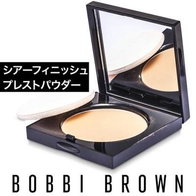 BOBBI BROWN シアーフィニッシュ プレストパウダー  #01 ペールイエロー11g []限定パッケージ
