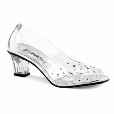 取寄 靴 送料無料 PLEASER プリーザー パンプス 5cmヒール 大きいサイズあり イベント セクシー サンタ 女装 パーティ- クリスマス コス