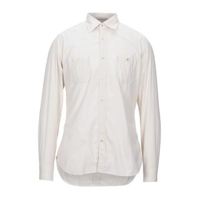 GUGLIELMINOTTI シャツ アイボリー 40 コットン 100% シャツ