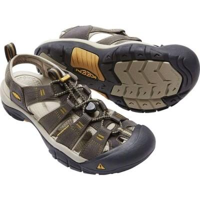 キーン Keen メンズ サンダル シューズ・靴 Newport H2 Sandals Raven Aluminum
