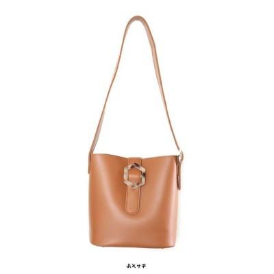【グローウィングリッチ】 [バッグ 鞄]マーブルバックルバケツ型バッグ[191038] レディース キャメル ワンサイズ GROWINGRICH