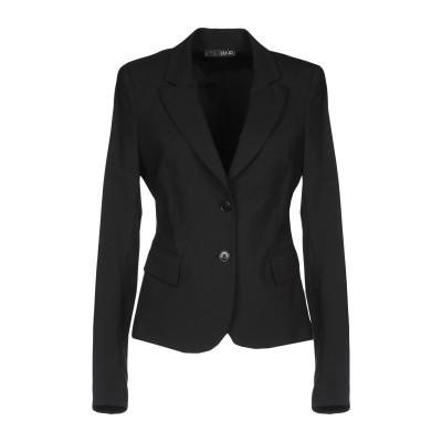 リュー ジョー LIU •JO テーラードジャケット ブラック 46 ポリエステル 54% / ウール 44% / ポリウレタン 2% テーラードジ