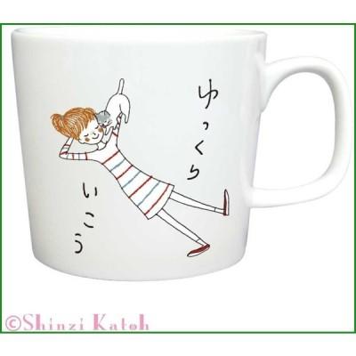 Shinzi Katoh Cheri マグ ゆっくりいこう ARK-1483-5|b03