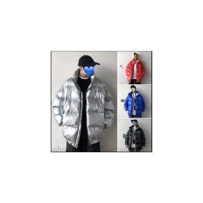 2020秋冬韓国ファッション カップル ショートコート ダウンジャケット長袖 カジュアル 無地4COLOR