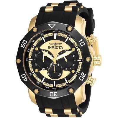 Invicta Men's Pro Diver Stainless Steel Quartz Watch with Silicone Strap  Black  26 (Model: 28754) 並行輸入品