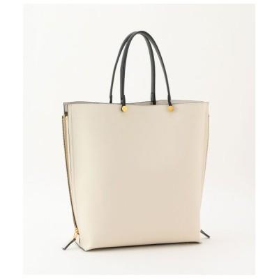 ROPE'/ロペ 【E'POR】【一部WEB限定】【A4対応】Y bag Large(サイドジップ縦型トートバッグ) ホワイト系(12) F