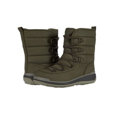 Merrell メレル レディース 女性用 シューズ 靴 ブーツ スノーブーツ Snowcreek Cozy Polar Waterproof - Olive Leather