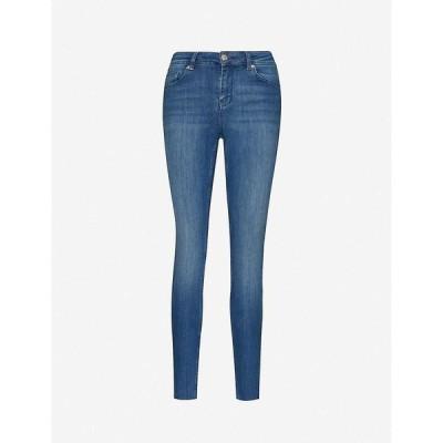 テッドベーカー TED BAKER レディース ジーンズ・デニム ボトムス・パンツ Skinny high-rise stretch-denim jeans MID-WASH